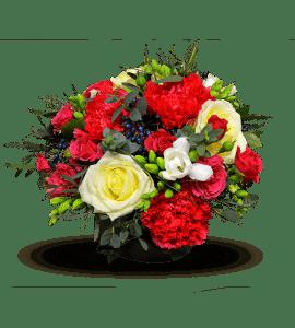 Малиновое настроение – Интернет-магазин цветов STUDIO Flores