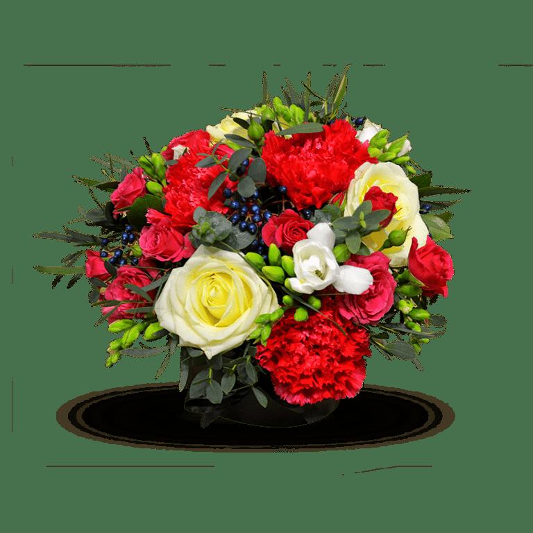 Малиновий настрій – Інтернет-магазин квітів STUDIO Flores