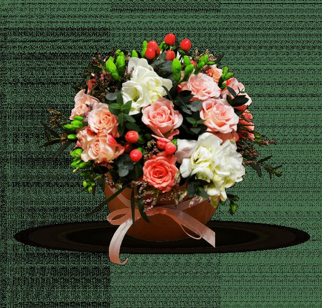 Зефир со сливками – Интернет-магазин цветов STUDIO Flores