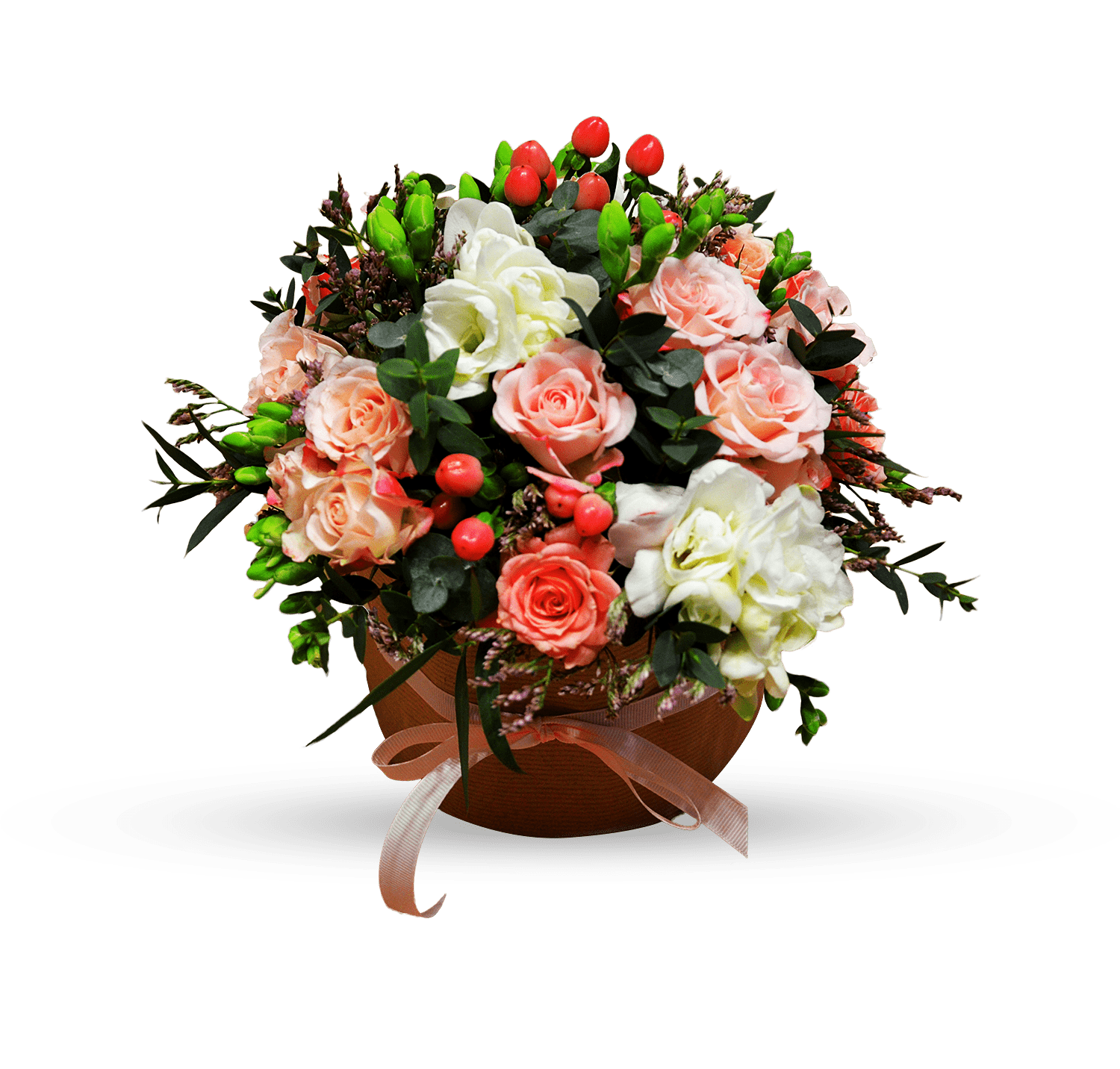 Order bouquet of flowers Marshmallow with cream with delivery across ...