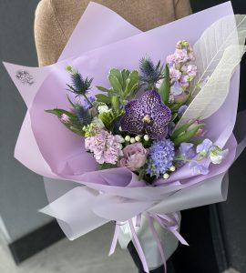 Букет Синее кружево – Інтернет-магазин квітів STUDIO Flores