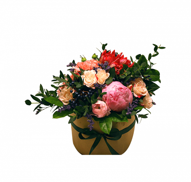 Пионовое настроение – Интернет-магазин цветов STUDIO Flores