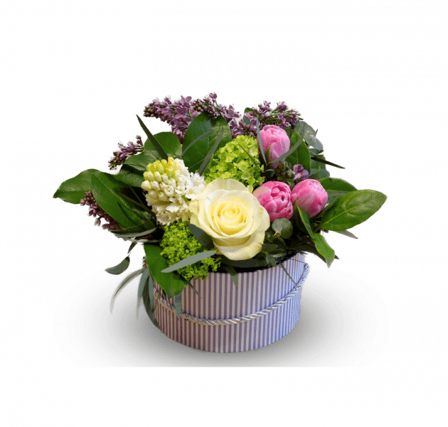 Весенняя коробочка – Интернет-магазин цветов STUDIO Flores