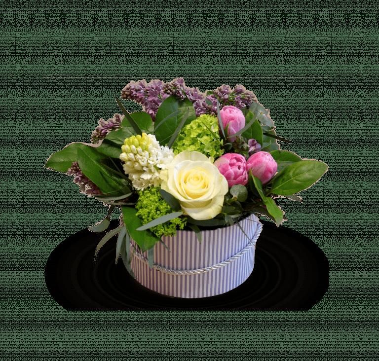 Весняна коробочка – Інтернет-магазин квітів STUDIO Flores