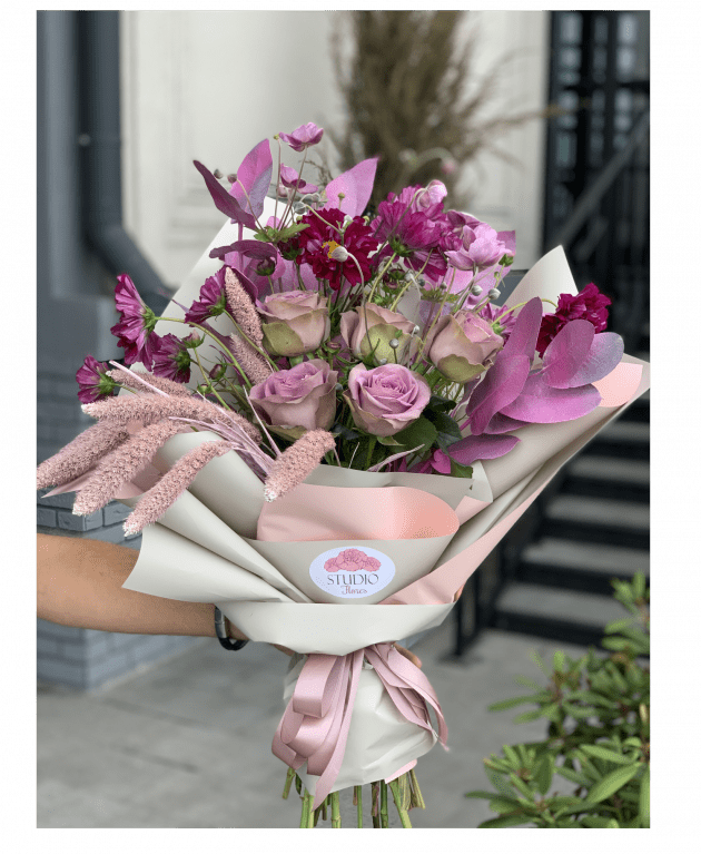 Lilac mood – Flower shop STUDIO Flores