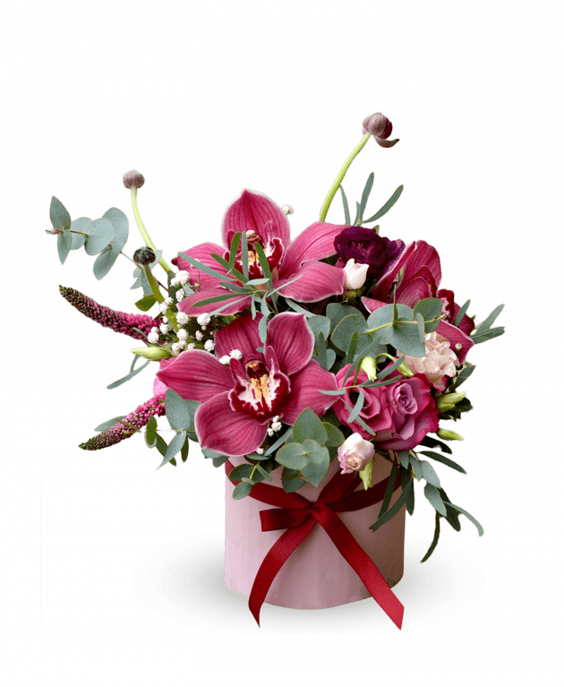 В каких случаях уместно дарить цветочные композиции подруге - Flores shop