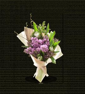 Бузковий комплімент – Інтернет-магазин квітів STUDIO Flores
