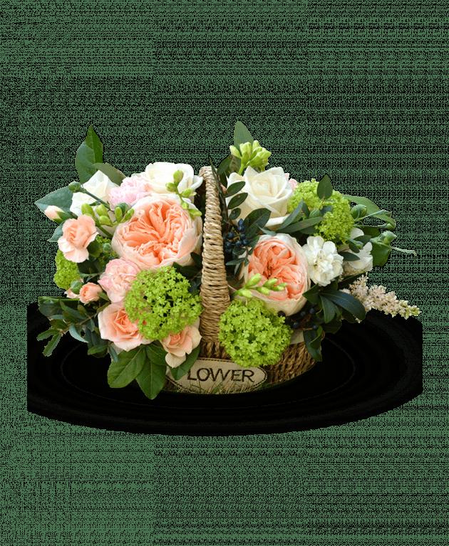 Букет Кошик Джульєти – Інтернет-магазин квітів STUDIO Flores