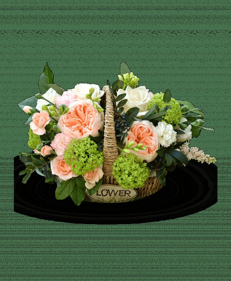 Корзинка Джульетты – Интернет-магазин цветов STUDIO Flores