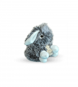 Мягкая игрушка Серый зайка – Інтернет-магазин квітів STUDIO Flores