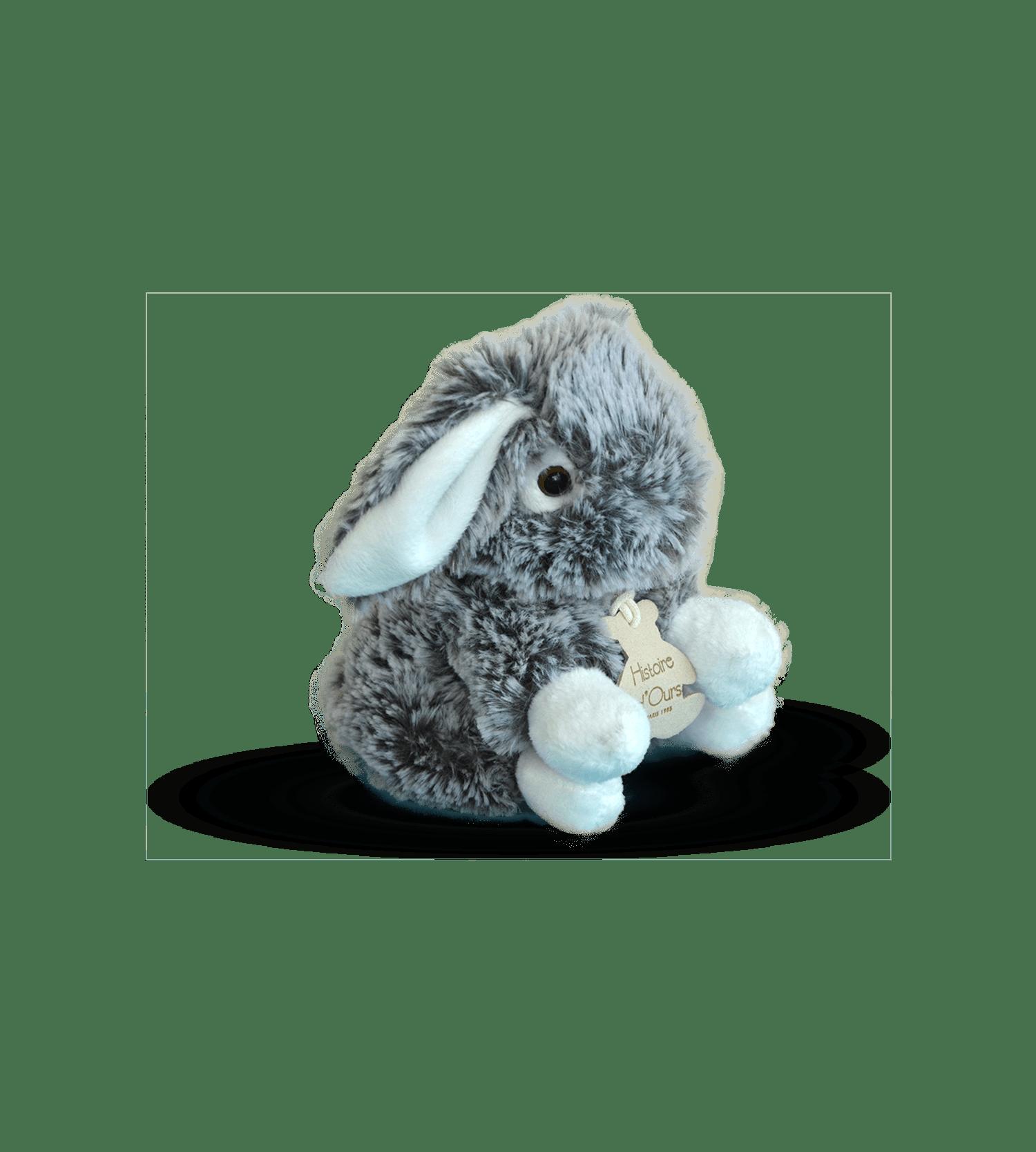 Мягкая игрушка Серый зайка – Интернет-магазин цветов STUDIO Flores