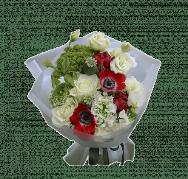 Bouquet with anemones – Flower shop STUDIO Flores