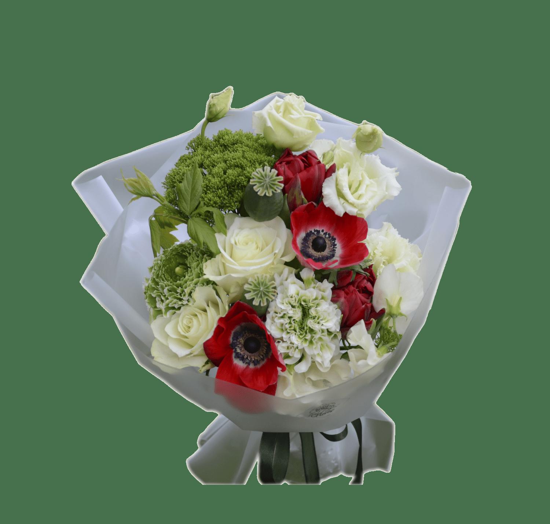 Order bouquet of flowers bouquet with anemones with delivery across bouquet with anemones flower shop studio flores izmirmasajfo