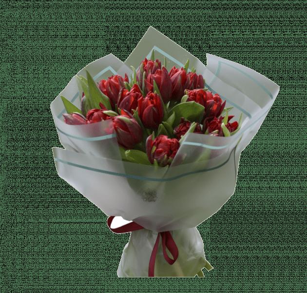 Букет тюльпанов на день рождения