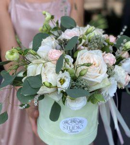Букет 'Фісташкове морозиво' – Інтернет-магазин квітів STUDIO Flores