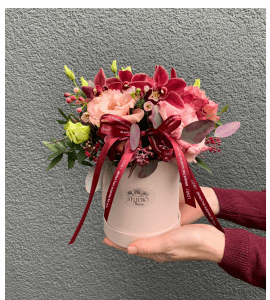 Tints of marsala – Flower shop STUDIO Flores