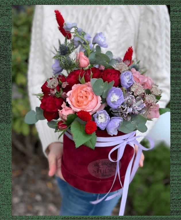 """Букет """"Вишневый сад"""" – Интернет-магазин цветов STUDIO Flores"""