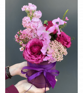 Букет Черничный коктейль – Flower shop STUDIO Flores