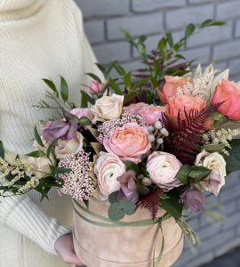 Букет Цветочная лавина – Flower shop STUDIO Flores