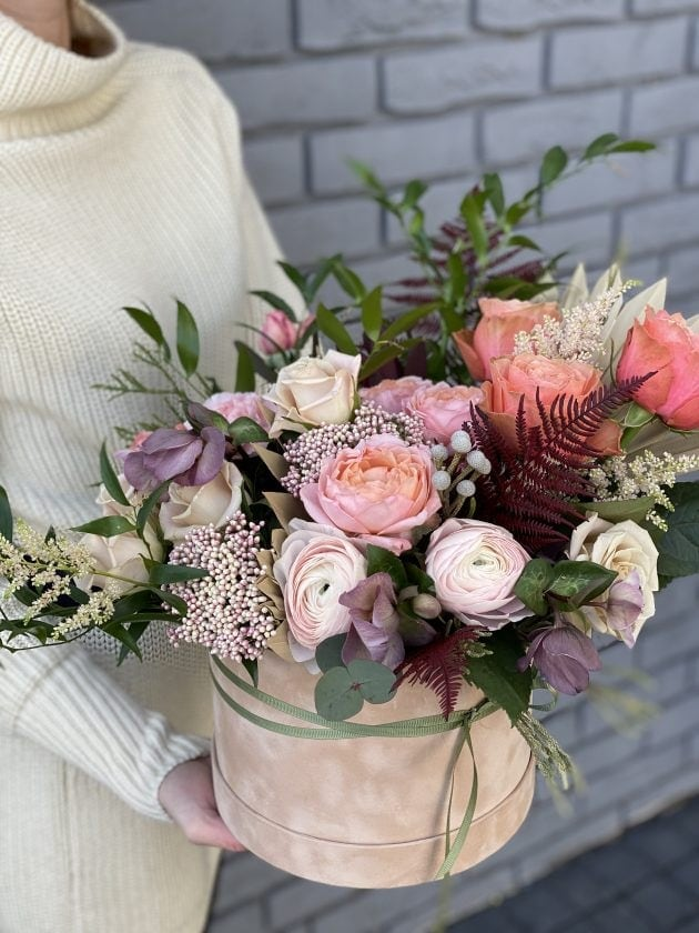 Букет Цветочная лавина – Интернет-магазин цветов STUDIO Flores