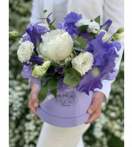 Букет по мотивам Ван Гога – Интернет-магазин цветов STUDIO Flores