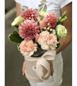 """Букет """"Вишневый десерт"""" – Інтернет-магазин квітів STUDIO Flores"""