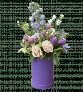 Лавандовые нотки – Интернет-магазин цветов STUDIO Flores