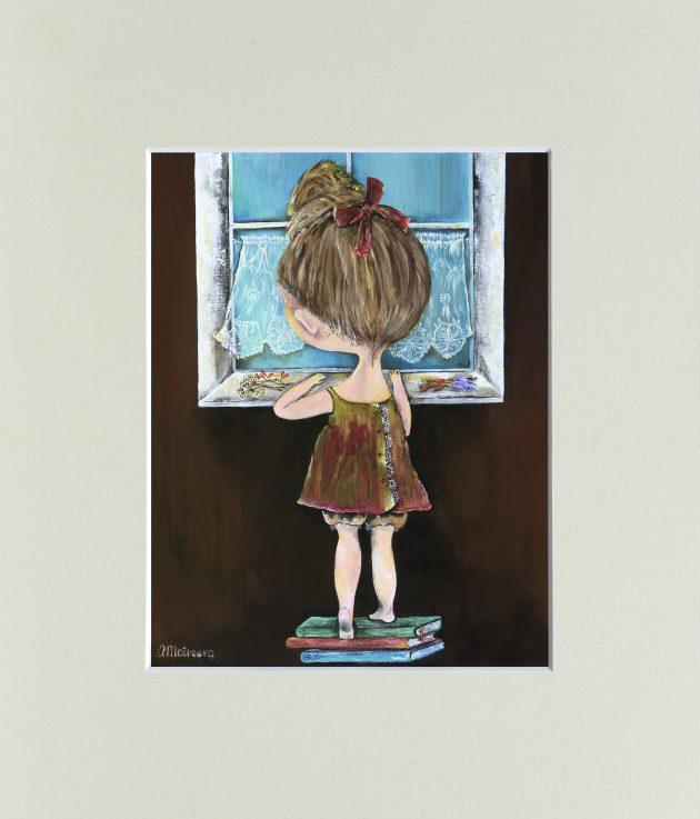 """Картина """"Дівчинка"""" – Інтернет-магазин квітів STUDIO Flores"""