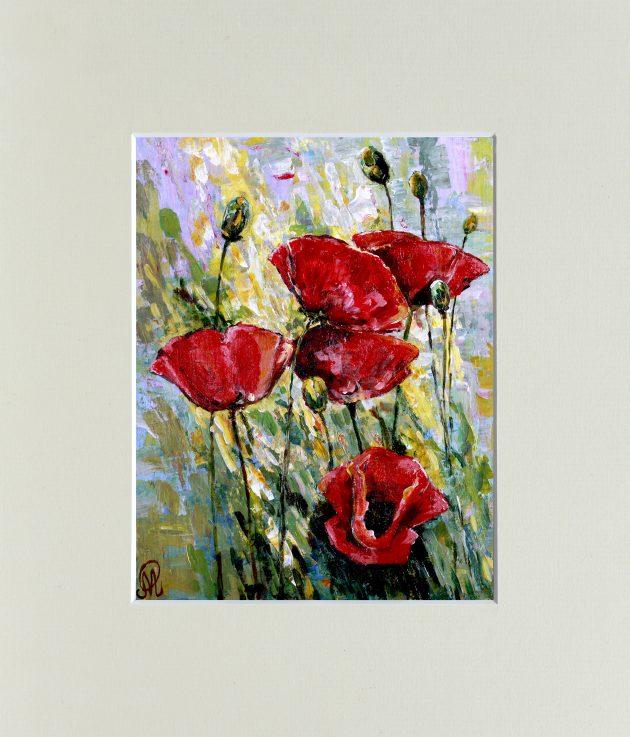 """Картина """"Маки"""" – Інтернет-магазин квітів STUDIO Flores"""