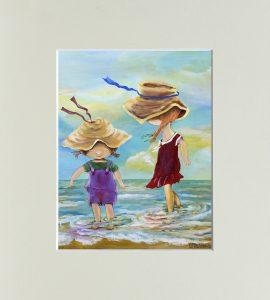 """Картина """"Сестры"""" – Flower shop STUDIO Flores"""