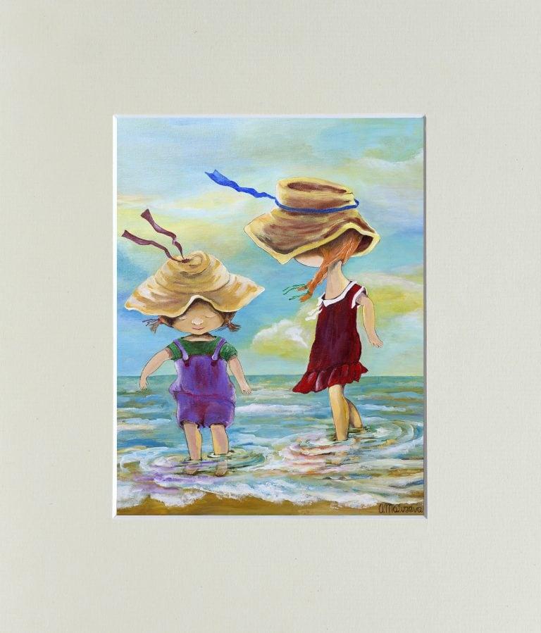"""Картина """"Сестры"""" – Интернет-магазин цветов STUDIO Flores"""