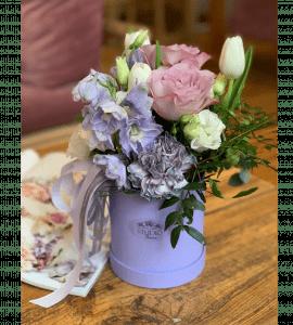 Букет Лавандовые нотки – Flower shop STUDIO Flores