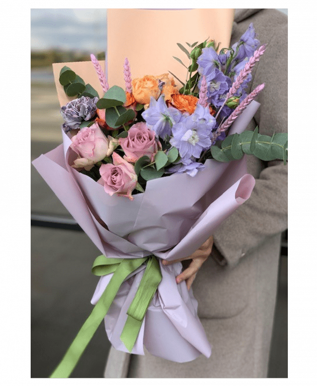 Букет 'Небо Лондона' – Интернет-магазин цветов STUDIO Flores