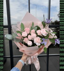 """Букет """"Розовое облако"""" – Flower shop STUDIO Flores"""