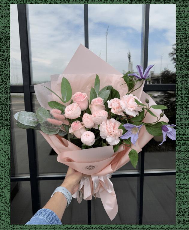 """Букет """"Розовое облако"""" – Интернет-магазин цветов STUDIO Flores"""