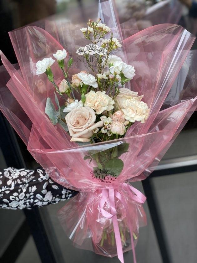 Букет 'Розовое облако' – Интернет-магазин цветов STUDIO Flores