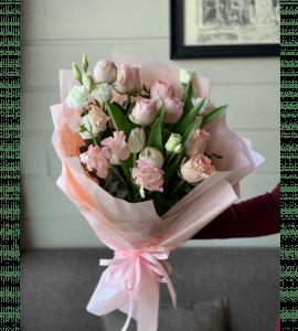Розовое облако – Flower shop STUDIO Flores
