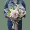 Букет с георгиной – изображение 2 – Интернет-магазин цветов STUDIO Flores