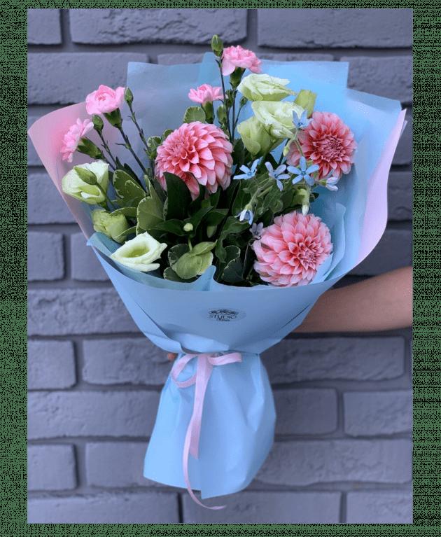 """Букет """"Яркий август"""" – Интернет-магазин цветов STUDIO Flores"""