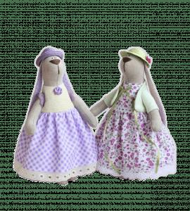 Зайка девочка – Интернет-магазин цветов STUDIO Flores