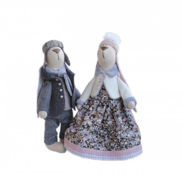 Игрушка  Влюбленные в зиму – Интернет-магазин цветов STUDIO Flores