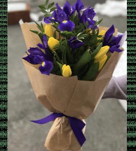 """Букет """"Цветочные брызги"""" – Интернет-магазин цветов STUDIO Flores"""