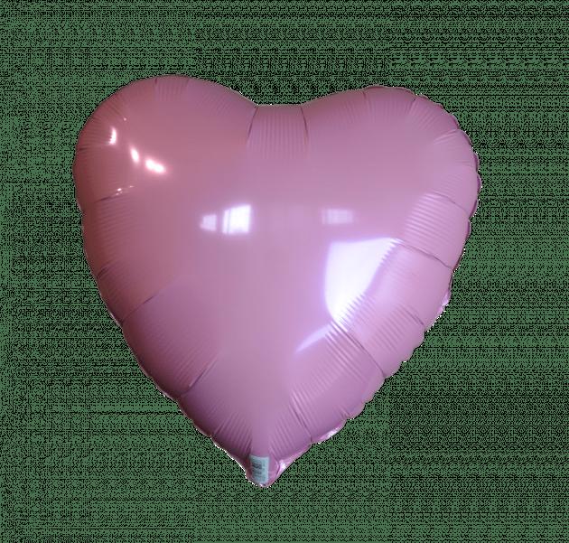 Сердце пастель розовое – Интернет-магазин цветов STUDIO Flores