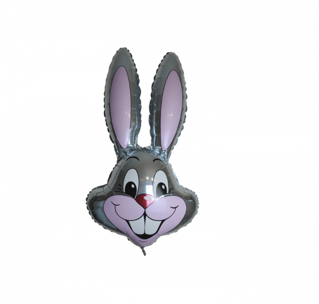 Фольгированный заяц – Интернет-магазин цветов STUDIO Flores
