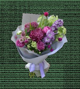 Сиреневая роскошь – Flower shop STUDIO Flores