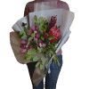 Bouquet with protea – image 2 – Flower shop STUDIO Flores