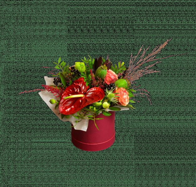 Львиное сердце – Интернет-магазин цветов STUDIO Flores