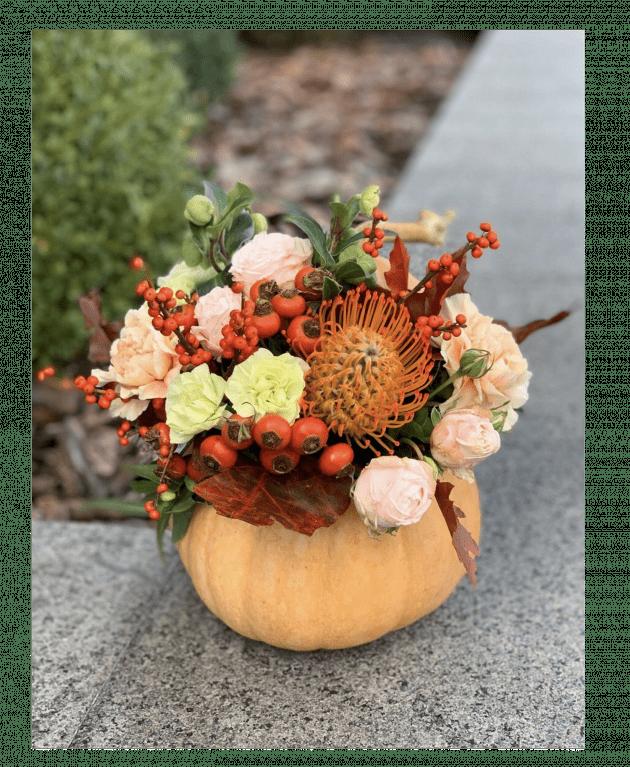 Букет 'Сладкий октябрь' – Интернет-магазин цветов STUDIO Flores