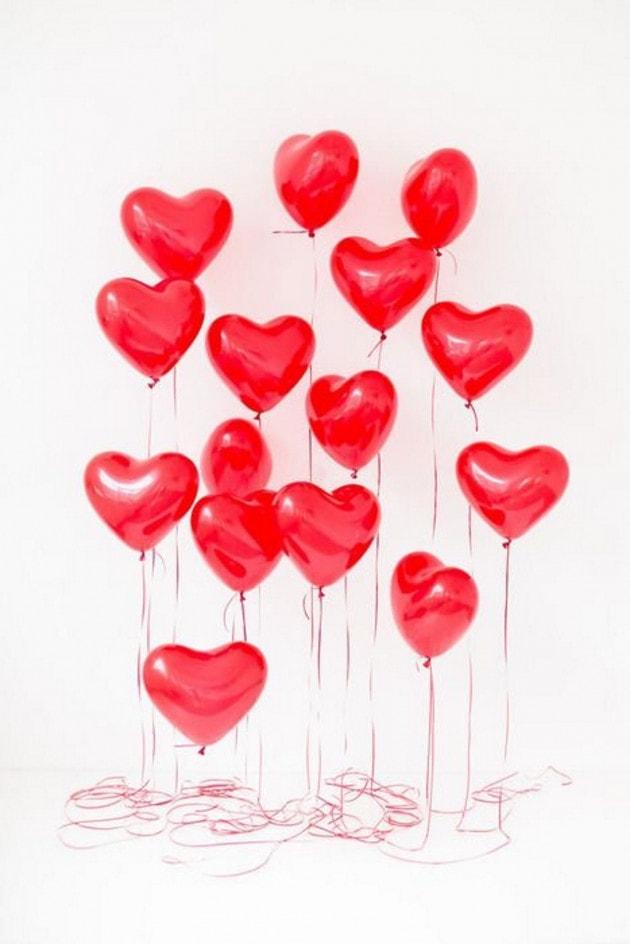Balloon in shape of heart – Flower shop STUDIO Flores