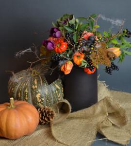 Букет Мистическая полночь – Интернет-магазин цветов STUDIO Flores